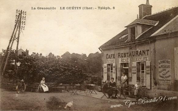La Grenouille-Le Guetin