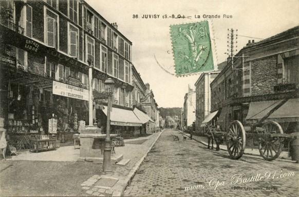 Juvisy-Grande rue-Carrefour de la Croix