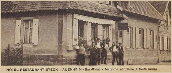 Hotel restaurant Steck-Auenheim-Bas-Rhin