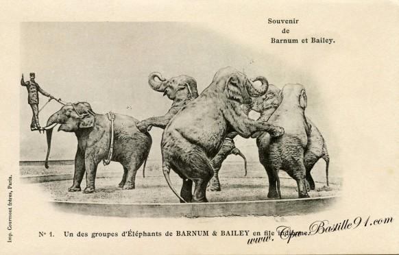 Cirque-Souvenir de Barnum et Bailey-1