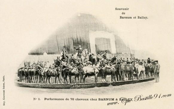 Cirque-Souvenir de Barnum et Bailey-2