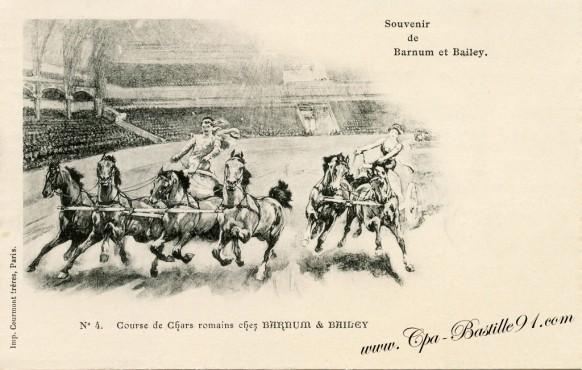 carte-Postale-Ancienne-Cirque-Souvenir de Barnum et Bailey-4