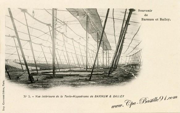 carte-Postale-Ancienne-Cirque-Souvenir de Barnum et Bailey-5