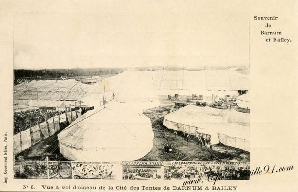 carte-Postale-Ancienne-Cirque-Souvenir de Barnum et Bailey-6