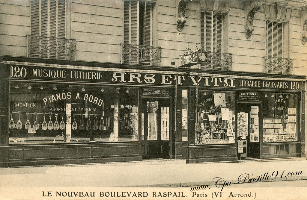 Devantures cartes postales anciennes - Magasin de pierre paris ...