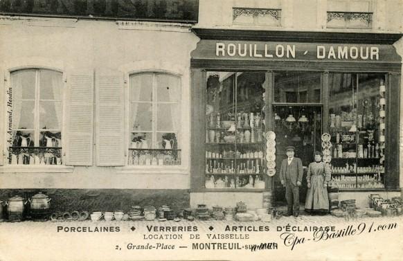 Montreuil-sur-mer-Porcelaines-Verreries-Rouillon-Damour