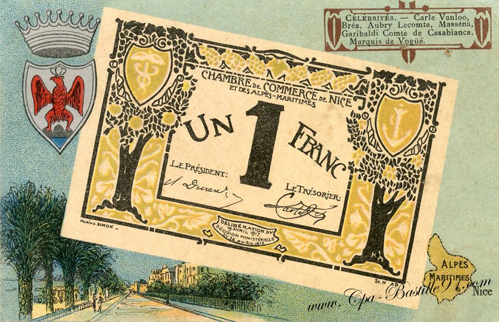Nice cartes postales anciennes - Chambre des commerces nice ...