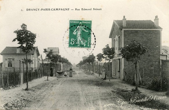 Drancy - Paris Campagne - Rue Edmond Sténuit