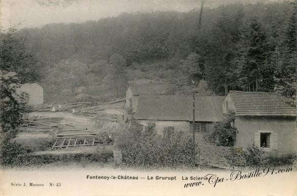 Fontenoy-le-Chateau-Le-Grurupt-La-Scierie