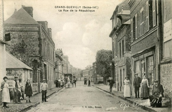 Grand-Quevilly - La rue de la République