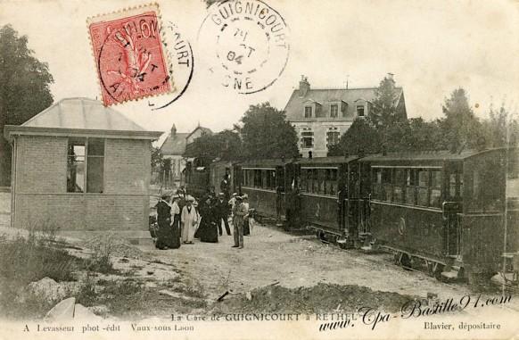 La gare de Guignicourt à Rethel