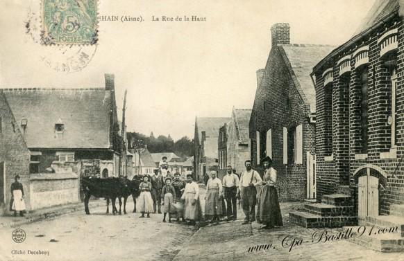 Montbrehain -  Rue de la haut