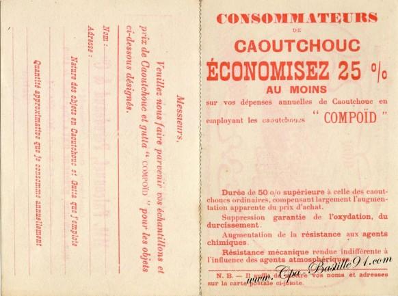 Carte Postale Ancienne - Publicitaire Falconnet-Perodeaud - Choisy-le-Roi