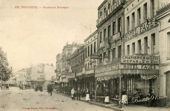 Toulouse - Boulevard-Bonrepos