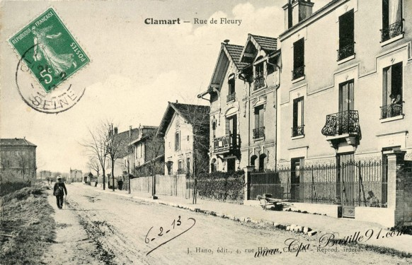 Clamart-Rue de Fleury