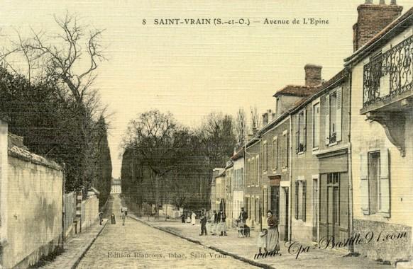 Saint-Vrain - Avenue de l'Epine