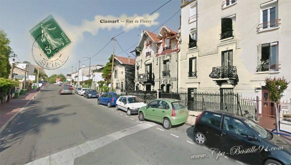 Clamart rue de Fleury-d'hier à Aujourd'hui