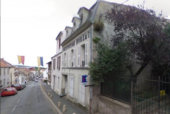 Montlhéry la rue de la Chapelle - d'hier à Aujourd'hui.