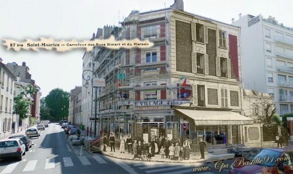 Saint-Maurice-carrefour-des-rues-Nocart-et-du-plateau-dhier-à-Aujourdhui