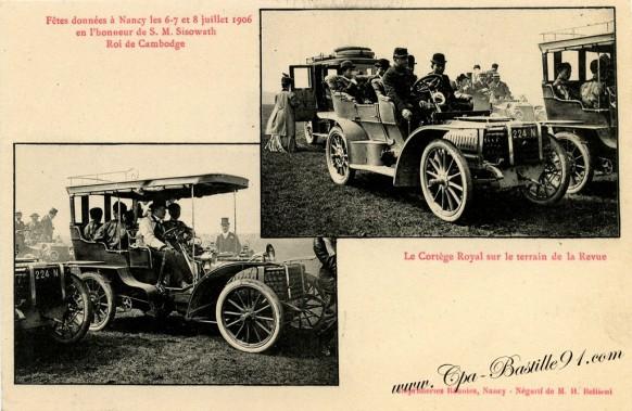 fetes données a Nancy en 1906-Roi du Cambodge