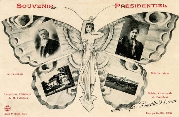 Souvenir Présidentiel - Le Président Falliéres