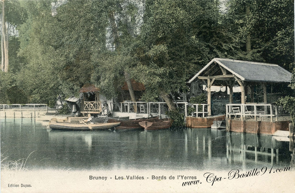 Brunoy les vall es les bords de l yerres en 1900 for Piscine yerres