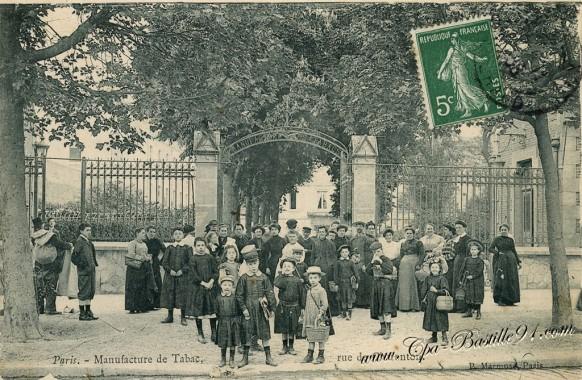Paris - Manufacture de Tabac - Rue de Charenton
