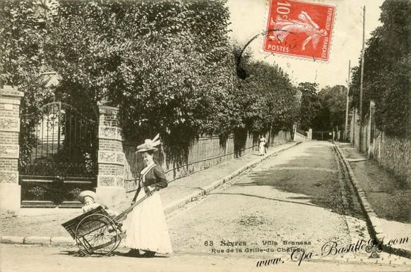 Sévres - Villa Brancas - Rue de la Grille du Château
