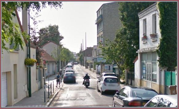 Colombes-Rue des Montclairs d'hier à Aujourd'hui
