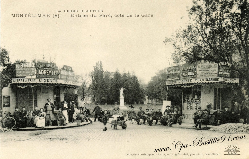 Montelimar cartes postales anciennes - Office du tourisme de montelimar ...
