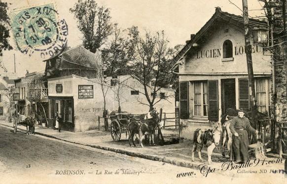 Robinson-La rue de Malabry
