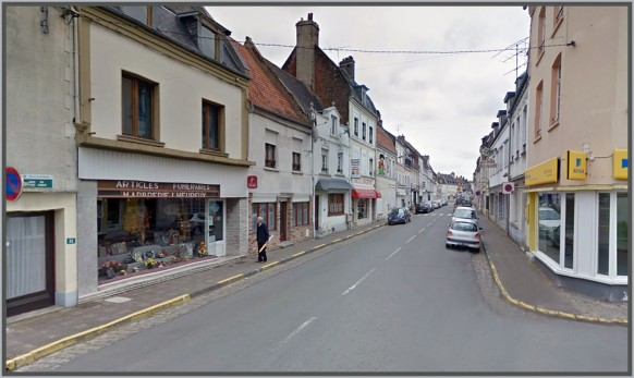 Hesdin-Rue-saint-Omer-dhier-à-Aujourdhui.