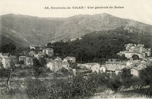 Environs-du-Vigan-Vue-générale-de-Bréau