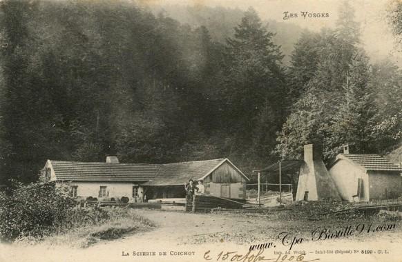 Les Vosges - La Scierie de Coichot