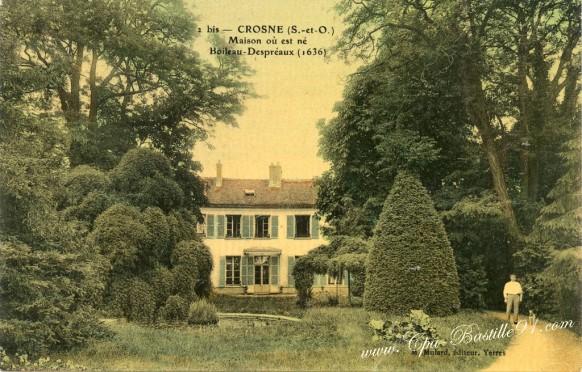http://www.cpa-bastille91.com/wp-content/uploads/2014/07/Carte-postale-Ancienne-Crosne-Maison-ou-est-né-Boileau-Despréaux-1636.jpg