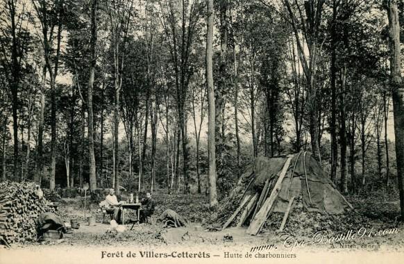 Forêt de Villers-Cotterêts - Hutte de Charbonniers