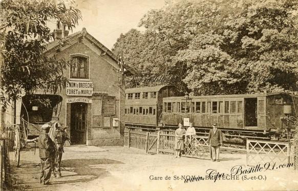 La Gare de St-Nom la Bretèche - Forêt de Marly