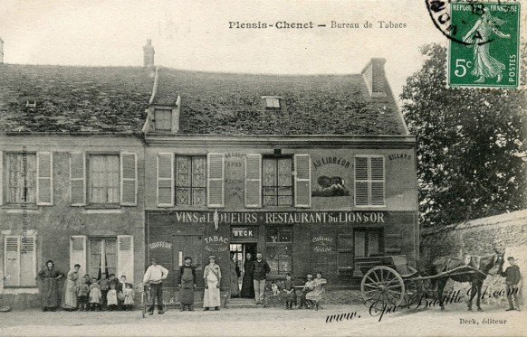 Plessis-Chenet-Bureau de Tabacs - Restaurant du Lion d'Or