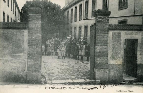 Villers-en-Arthies - l'Orphelinat - Cliquez sur la carte pour l'agrandir et en voir tous les détails