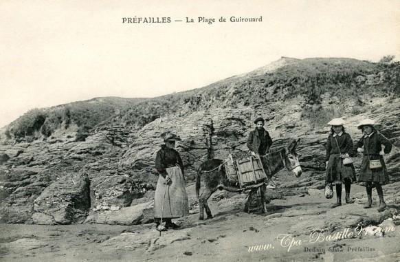 Préfailles – La Plage de Guirouard – Cliquez sur la carte pour l'agrandir et en voir tous les détails