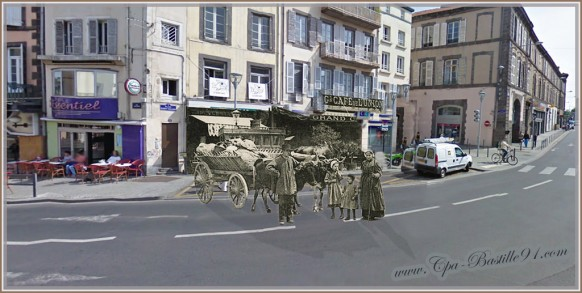 Clermont-Ferrand-Place-Gilbert-Gaillard-dHier-à-Aujourdhui