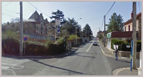 Route de longpont-Sainte-Genevieve de Bois-d'hier a aujourd'hui