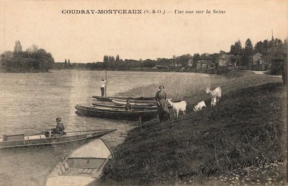 Coudray-Montceaux - Une Vue sur la Seine