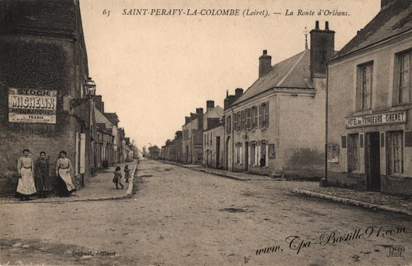 Saint-Peravy-La-Colombe-La-route-dOrléans