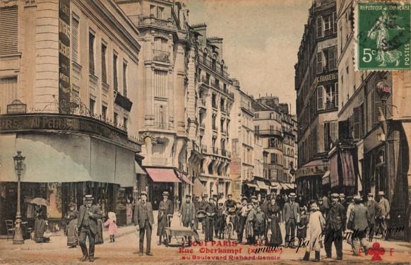 Tout Paris - Rue Oberkampf au Boulevard Richard-Lenoir