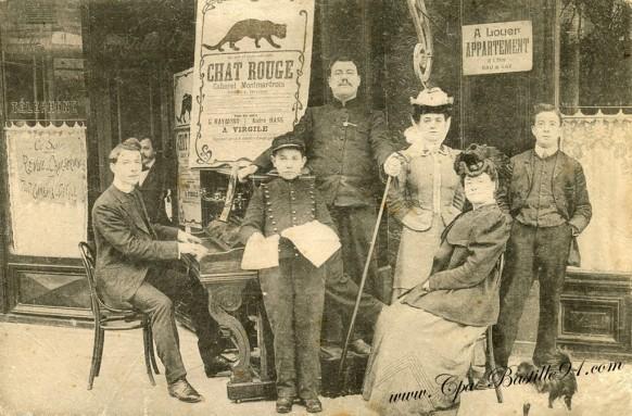 Cabaret Montmartrois- le Chat Rouge