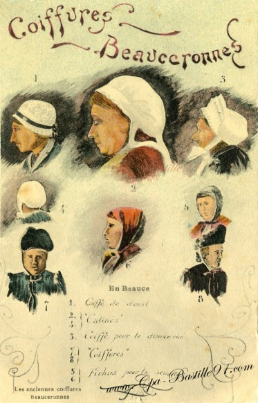 Les Anciennes Coiffures Beauceronnes