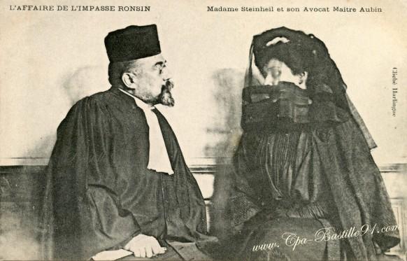 Madame-Steinheil-et-son-avocat-maitre-Aubin