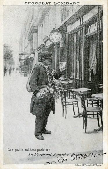 Petit Metiers Parisiens - Le Marchand d'articles de Caves