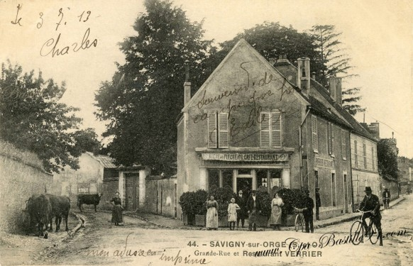 Savigny-sur-Orge-La-grande-rue-Restaurant-Verrier